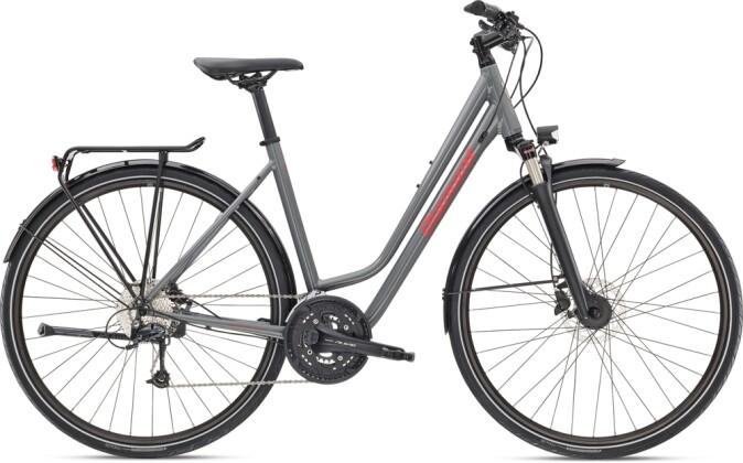 Trekkingbike Diamant Elan Deluxe WIE Graphitgrau 2021