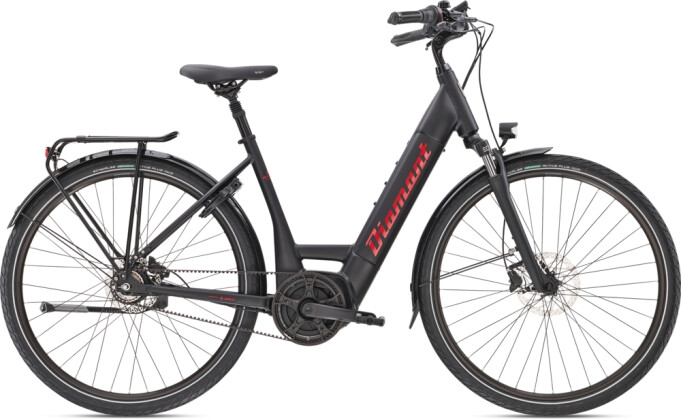 e-Citybike Diamant Beryll Esprit+ RT TIE Tiefschwarz 2021