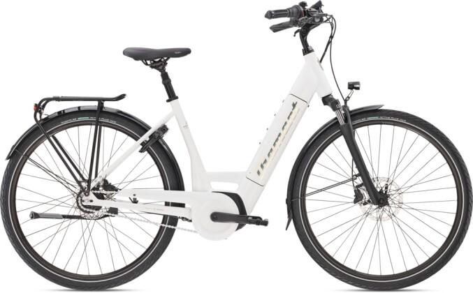 e-Citybike Diamant Beryll Deluxe+ RT TIE Weiss 2021