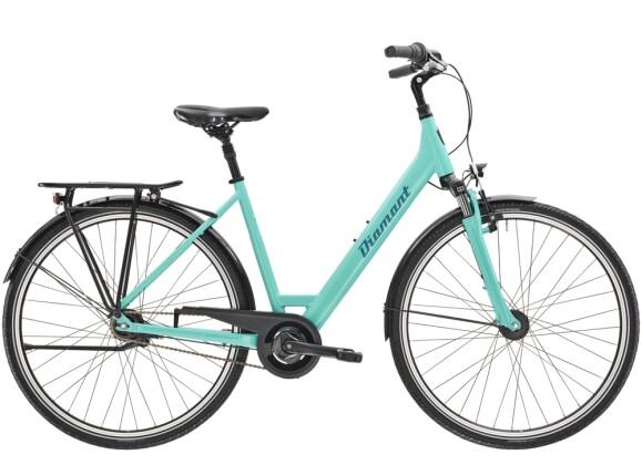 Citybike Diamant Achat TIE Aquamarin 2021