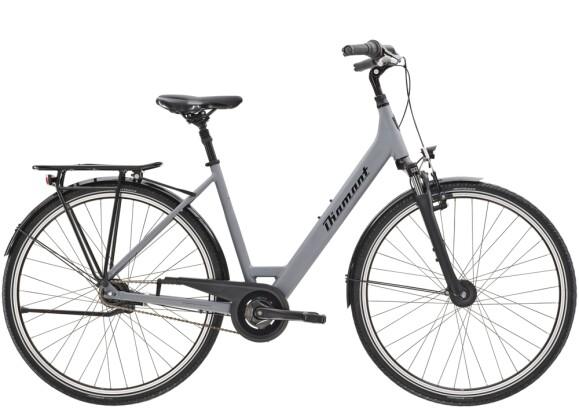 Citybike Diamant Achat TIE Graphitgrau 2021