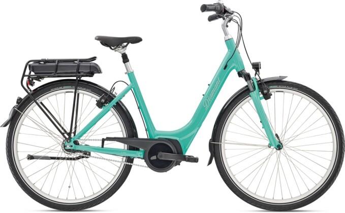e-Citybike Diamant Achat+ RT TIE Aquamarin 2021