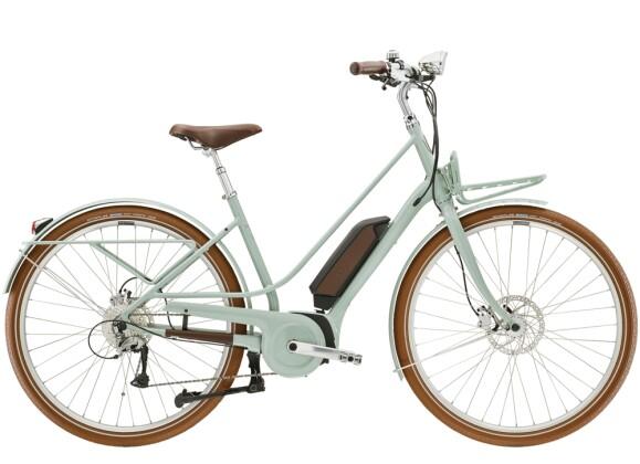 e-Trekkingbike Diamant Juna+ WIE Moreagrün 2021