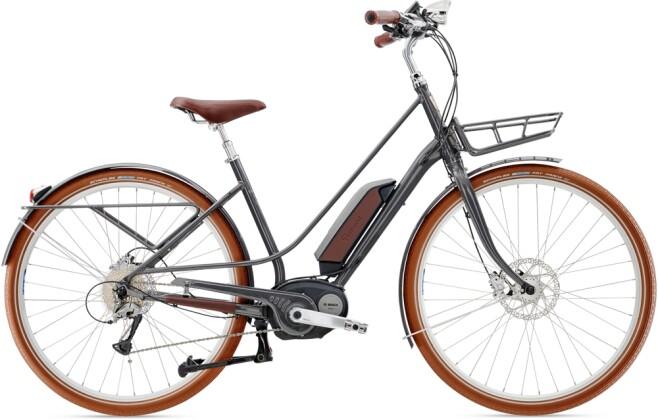 e-Trekkingbike Diamant Juna+ Mineralgrau 2021