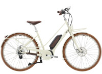 e-Citybike Diamant Juna Deluxe+ WIE Tofanaweiss