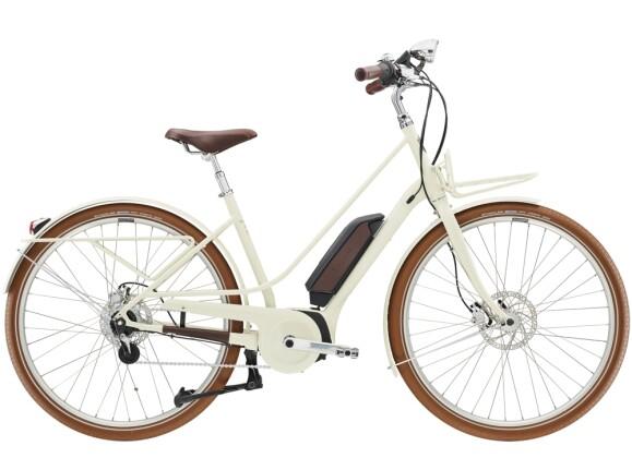 e-Citybike Diamant Juna Deluxe+ WIE Tofanaweiss 2021