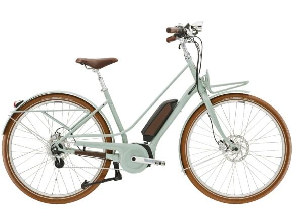 e-Citybike Diamant Juna Deluxe+ WIE Moreagrün 2021