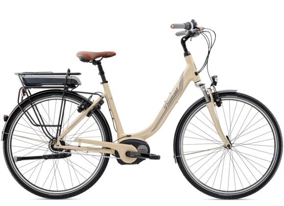 e-Citybike Diamant Achat Deluxe+ RT Havannabeige 2021