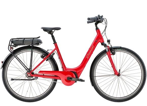 e-Citybike Diamant Achat Deluxe+ Indischrot 2021