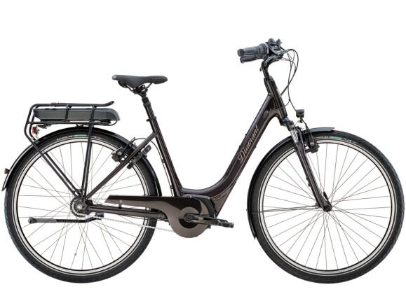 e-Citybike Diamant Achat Deluxe+ Obsidianschwarz 2021