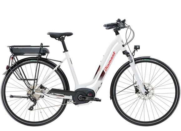 e-Trekkingbike Diamant Elan+ Weiss 2021