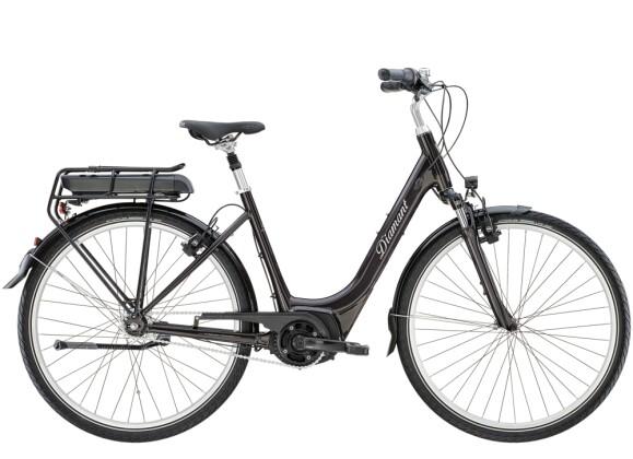 e-Citybike Diamant Achat+ RT TIE Obsidianschwarz 2021