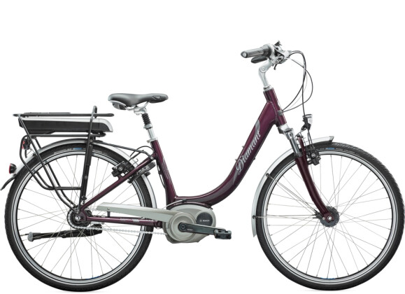 e-Citybike Diamant Achat Deluxe+ Amethystmetallic 2021
