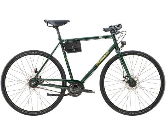 Citybike Diamant 133 Smaragdgrün 2021