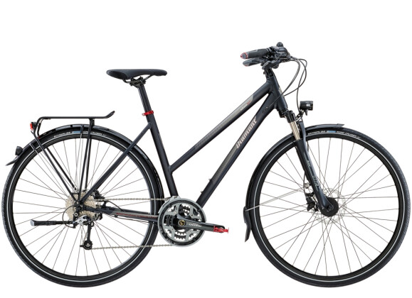 Trekkingbike Diamant Elan Sport Tiefschwarz 2021