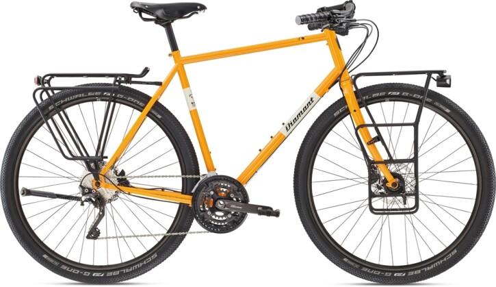 Trekkingbike Diamant 135 HER Turmalin 2021