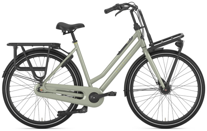 Citybike Gazelle HEAVY DUTYNL T7 grün 2021