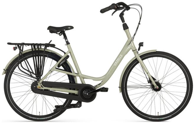 Citybike Gazelle BLOOM C7 grün 2021