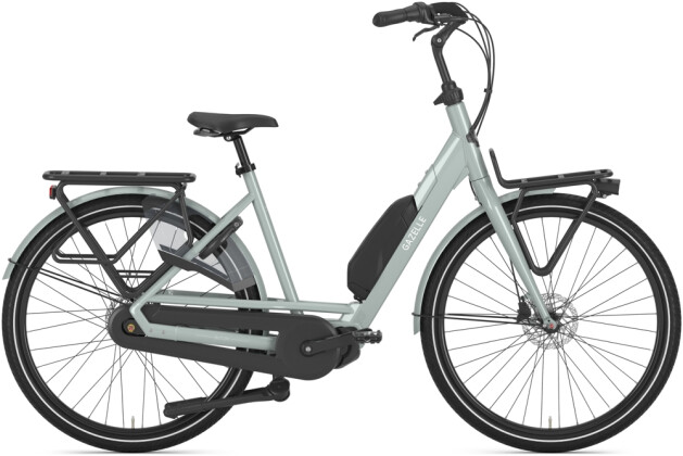e-Citybike Gazelle BLOOM C7 HMS oliv 2021