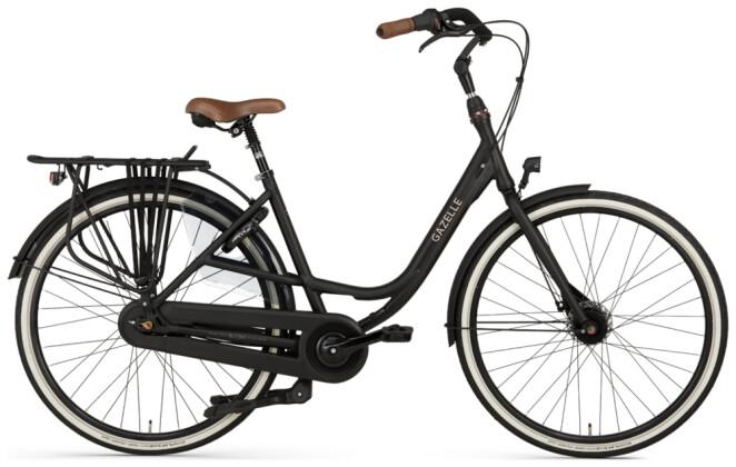 Citybike Gazelle BLOOM C7 schwarz 2021