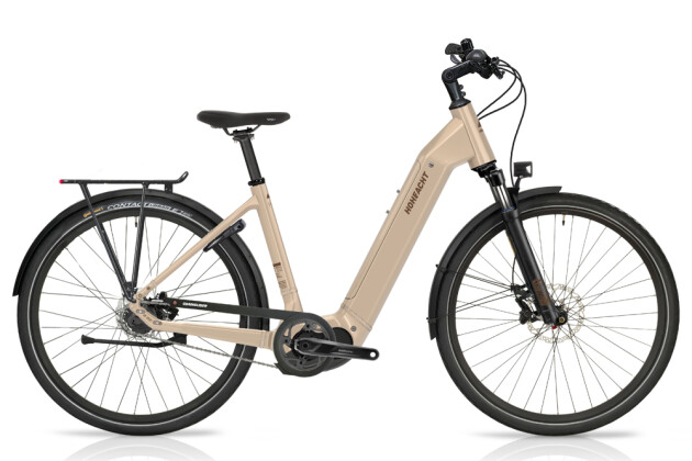 e-Citybike HoheAcht Amo Vilago Perlwein 2021