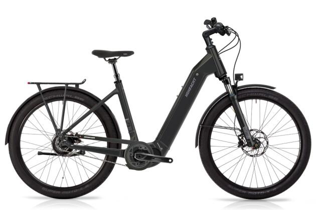 e-Citybike HoheAcht Amo Urbeno Vulkanschiefer 2021