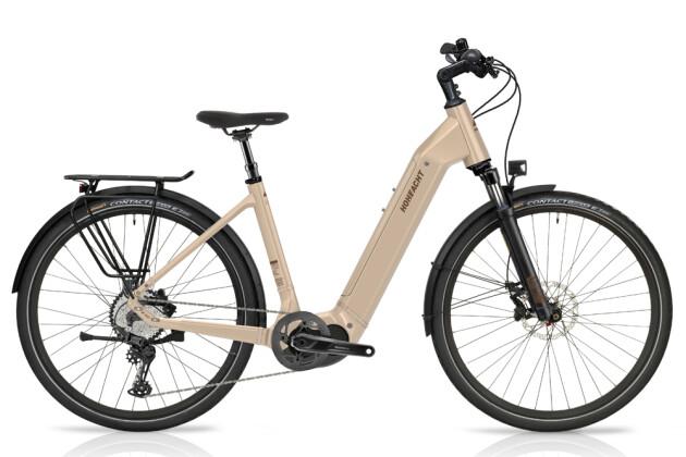 e-Trekkingbike HoheAcht Amo Tereno Perlwein 2021