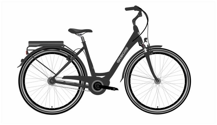 e-Citybike Grecos ELI 1.1 SCHWARZ 2021