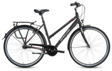 Citybike Grecos BOSTON SCHWARZ  Trapez