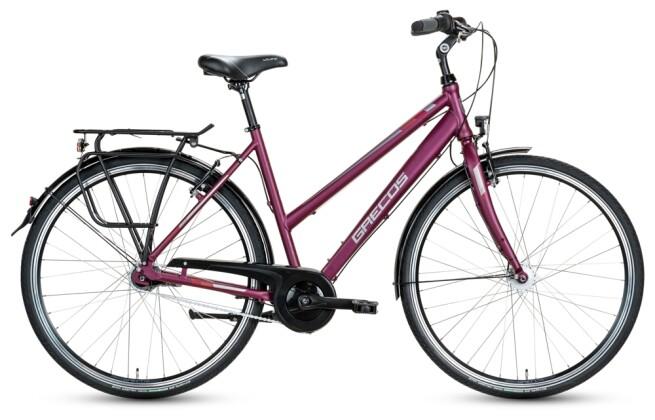 Citybike Grecos BOSTON CASSIS  Trapez 2021