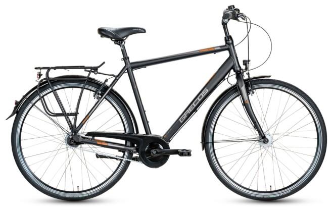 Citybike Grecos BOSTON SCHWARZ  Diamant 2021