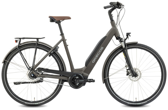 e-Citybike Grecos ELI 2.1 STAHLGRAU 2021