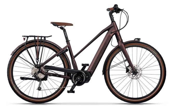 e-Trekkingbike Grecos ELI 2.6 AUBERGINE  Trapez 2021