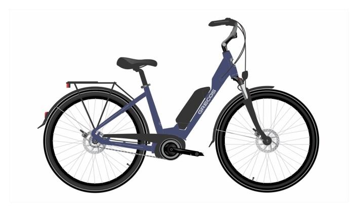 e-Citybike Grecos ELI 1.2 SAPHIRE BLUE 2021