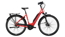 e-Citybike Brennabor T-40e red
