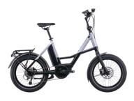 e-Citybike Cube Compact Sport Hybrid 500 black´n´polarsilver