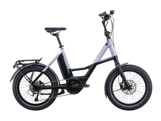 e-Citybike Cube Compact Sport Hybrid 500 black´n´polarsilver 2022