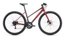 Urban-Bike Cube SL Road darkred´n´red
