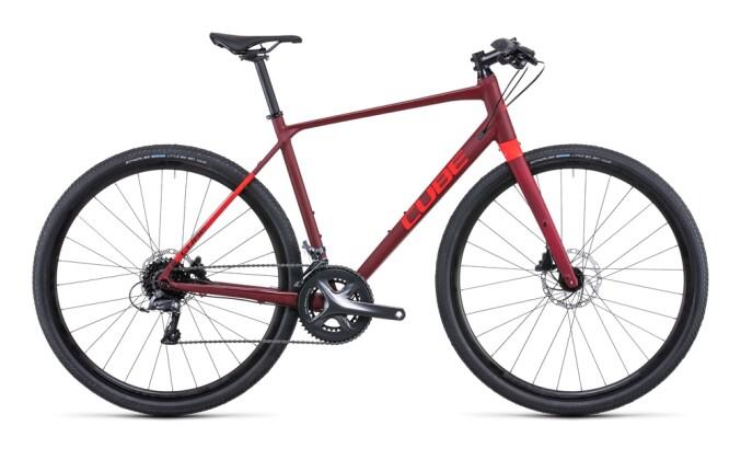 Urban-Bike Cube SL Road darkred´n´red 2022