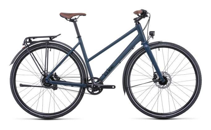 Trekkingbike Cube Travel EXC midnight´n´blue 2022