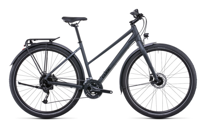Trekkingbike Cube Travel grey´n´teak 2022