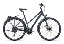 Citybike Cube Touring EXC grey´n´orange