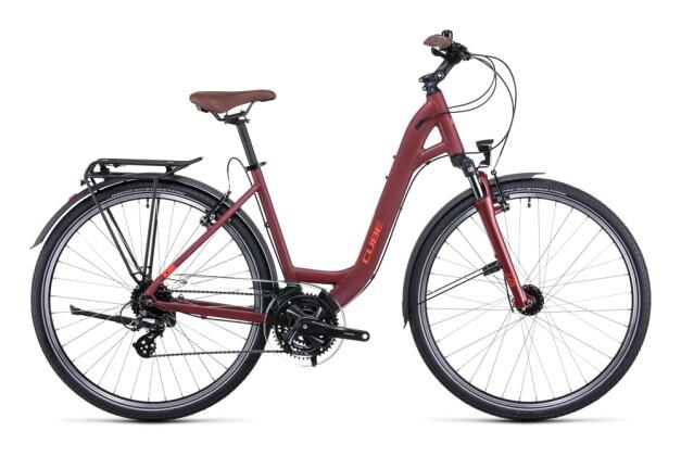 Citybike Cube Touring darkred´n´red 2022