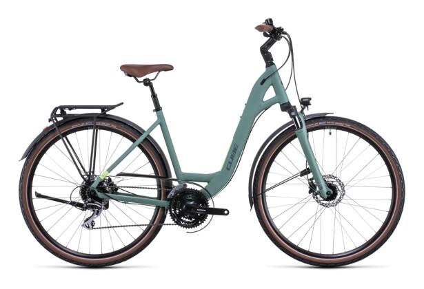 Citybike Cube Touring ONE green´n´sharpgreen 2022