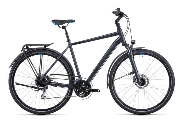 Citybike Cube Touring ONE grey´n´blue 2022