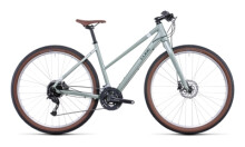 Urban-Bike Cube Hyde green´n´grey