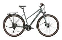 Trekkingbike Cube Nature Pro Allroad silvergreen´n´black