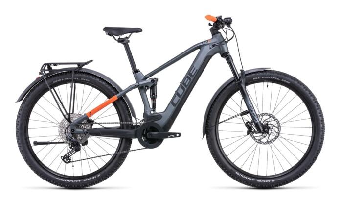 e-Mountainbike Cube Stereo Hybrid 120 Pro Allroad 625 flashgrey 2022