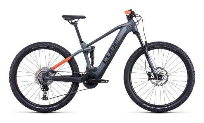 e-Mountainbike Cube Stereo Hybrid 120 Pro 625 flashgrey´n´orange 2022