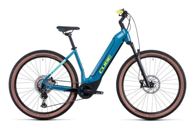 e-Mountainbike Cube Reaction Hybrid Race 625 blue´n´lime 2022